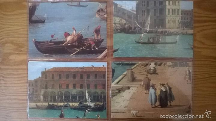 VENECIA: LOTE DE 12 POSTALES DE PINTORES DEL S. XVIII (Postales - Postales Extranjero - Europa)