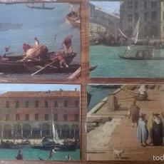 Postales: VENECIA: LOTE DE 12 POSTALES DE PINTORES DEL S. XVIII. Lote 57689128