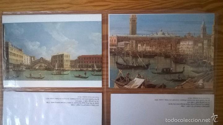 Postales: VENECIA: LOTE DE 12 POSTALES DE PINTORES DEL s. XVIII - Foto 2 - 57689128