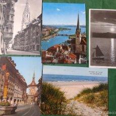 Postales: CINCO PRECIOSAS POSTALES DE SUIZA, ALEMANIA Y HOLANDA, PRIMEROS '70, CIRCULADAS. Lote 57815923
