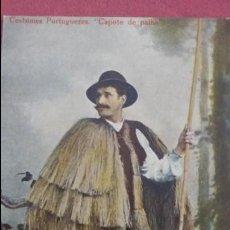 Postales: COSTUMES PORTUGUEZES.COPOTE DE PALHA. Lote 56702131