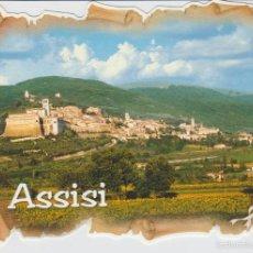 Postales: ASSISI (ITALIA). POSTAL TROQUELADA. Lote 57890438