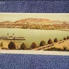 Postales: TARJETA POSTAL ALARGADA. SUIZA. 1039. GENEVE. PANORAMA DE LA RADE ET LE MONTBLANC. Lote 57919339