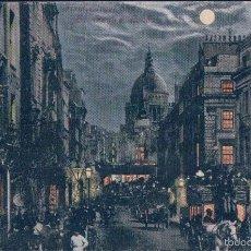 Postales: POSTAL LONDRES - LONDON FLEER STREET AND ST PAUL S. Lote 57960725
