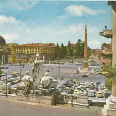 Postais: ROMA (ITALIA) PLAZA DEL PUEBLO - PLURIGRAF 262 - SIN CIRCULAR. Lote 58085884