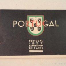 Postales: 12 POSTALES TYPES DE L'EMPIRE PORTUGAIS - AÑO 1937 - DIBUJOS EDUARDO MALTA. Lote 58113740