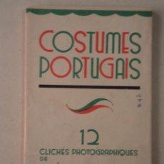 Postales: 12 POSTALES COSTUMES PORTUGAIS - AÑO 1937 - FOTOGRAFÍAS DE MÁRIO NOVAIS. Lote 58113766
