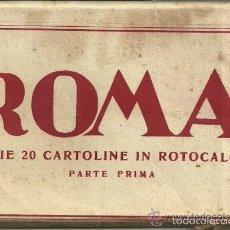 Postales: ROMA - SERIE 20 POSTALES AÑOS 30 BLANCO Y NEGRO SIN CIRCULAR. EDICIONES ENRICO VERDESI. ROMA. Lote 59541369