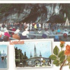 Postales: LOURDES (FRANCIA), DIVERSOS ASPECTOS - ED. A. DOUCET Nº A 496 - SIN CIRCULAR. Lote 58189335