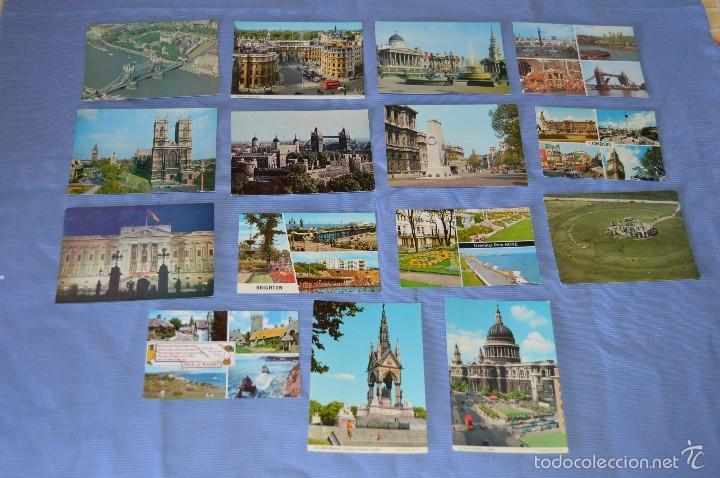 LOTE 26 POSTALES SIN CIRCULAR - 15 REINO UNIDO Y 11 ITALIA - MUY BUEN ESTADO (Postales - Postales Extranjero - Europa)