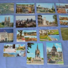 Postales: LOTE 26 POSTALES SIN CIRCULAR - 15 REINO UNIDO Y 11 ITALIA - MUY BUEN ESTADO. Lote 58199624