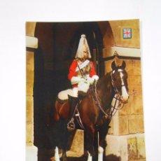 Postales: POSTAL LONDRES. LONDON. A SENTRY OF THE LIFE GUARDS. UN CENTINELA DEL CUERPO DE GUARDIA. TDKP7. Lote 58224337