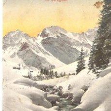 Postales: POSTAL DE SUIZA CLAVADEL 1909 31/066. Lote 58362332