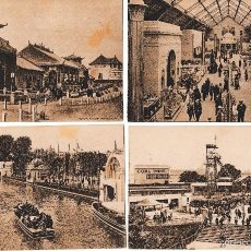 Postales: 18 POSTALES BRITISH EMPIRE EXHIBITION 1924 EXPOSICION COLONIAL IMPERIO BRITANICO. SIN CIRCULAR. Lote 58415269