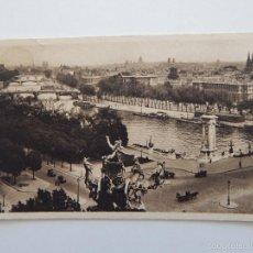 Postales: PARIS... EN FLANANT. PERSPECTIVE SUR LA SEINE. Lote 58564229