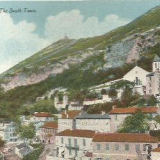 Postales: POST CARD GIBRALTAR THE SOUTH TOWN BEANLAND MALIN & CO. PRINTED BY MILLAR & LANZ LTD GLASGOW. Lote 58564582