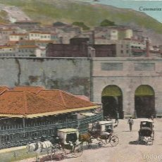 Postales: POST CARD GIBRALTAR CASEMALES GALES AND MARKET BEANLAND MALIN & CO. MAIN STREET MILLAR LANG GLASGOW. Lote 58564623