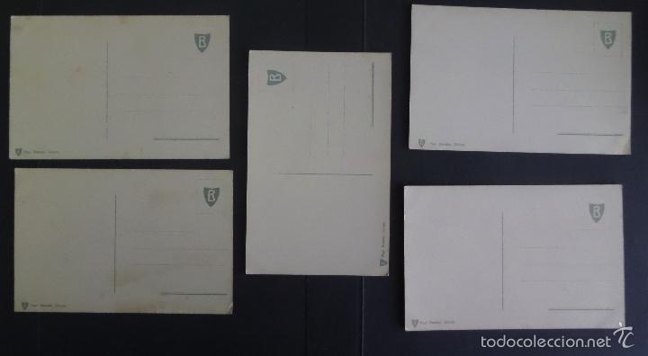 Postales: 5 antiguas postales de fotografias coloreades del lago di Garda, sin circular - Foto 2 - 58583147