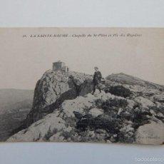 Postales: 48. LA SAINTE-BAUME - CHAPELLE DU ST-PILON ET PIC DES BÉGUINES. Lote 58702415