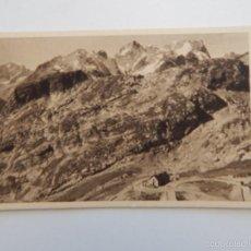 Postales: COL DU GALIBIER. ROCHE NOIRE ET MASSIF DE LA MEIJE. Lote 58808791