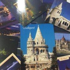 Postales: LOTE DE 14 POSTALES DE BUDAPEST HUNGRIA, SIN CIRCULAR, POSTAL.. Lote 59826236