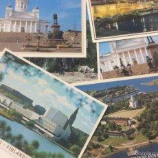 Postales: LOTE DE 6 POSTALES DE HELSINKI FINLANDIA, SIN CIRCULAR, POSTAL.. Lote 59826980