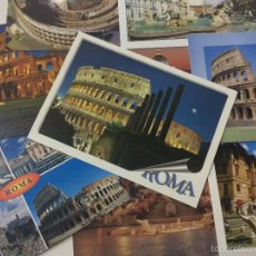 Postales: LOTE DE 10 POSTALES DE ROMA ITALIA, SIN CIRCULAR, POSTAL.. Lote 59827408
