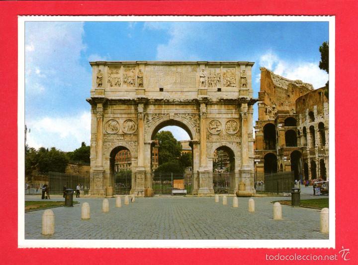 2034 ITALIA ITALIE ITALY ROMA ROME ARCO DI COSTANTINO L'ARC DE CONSTANTIN COLOSSEO (Postales - Postales Extranjero - Europa)