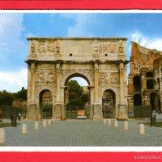 Postales: 2034 ITALIA ITALIE ITALY ROMA ROME ARCO DI COSTANTINO L'ARC DE CONSTANTIN COLOSSEO. Lote 60388599