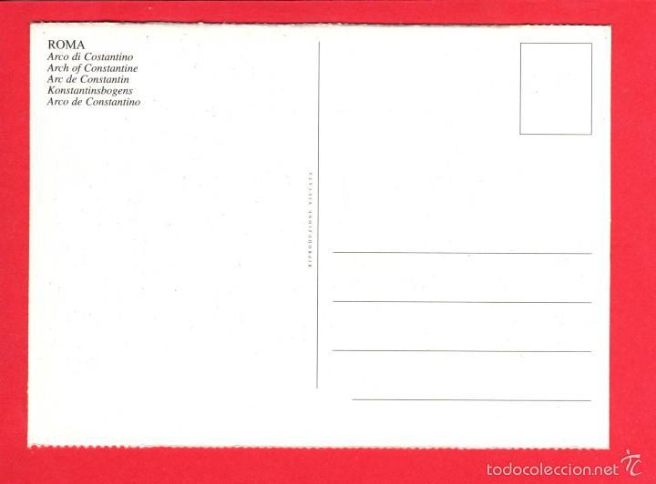 Postales: 2034 Italia Italie Italy Roma Rome Arco di Costantino L'arc de Constantin Colosseo - Foto 2 - 60388599
