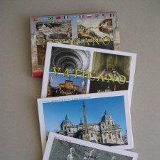 Postales: LOTE DE 4 CARTERAS DE POSTALES DEL VATICANO.. Lote 60597027