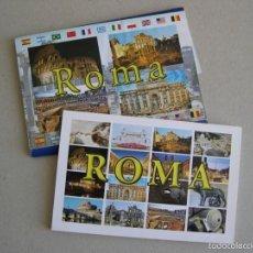Postales: CARTERA DE 10 POSTALES DE ROMA.. Lote 60597183