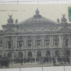 Postales: POSTAL OPERA DE PARÍS 1930. Lote 60882018
