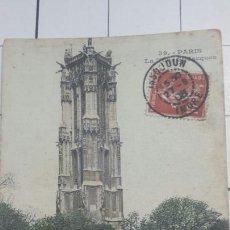 Postales: POSTAL DE PARÍS 1908. Lote 60883543