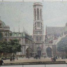 Postales: ANTIGUA POSTAL DE PARÍS 1906. Lote 60954427