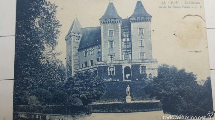 POSTAL LE CHATEAU FRANCIA 1927 (Postales - Postales Extranjero - Europa)