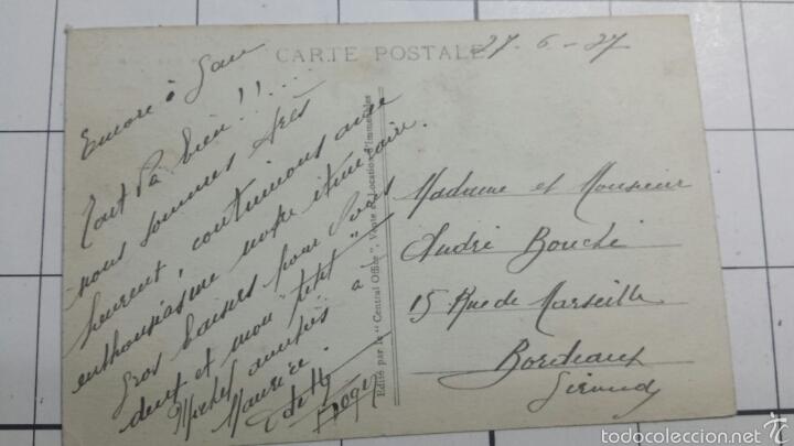 Postales: Postal Le Chateau Francia 1927 - Foto 2 - 61088583