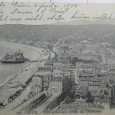 Postales: POSTAL DE FRANCIA 1904 NICE. Lote 61091175