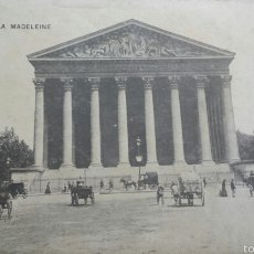 Postales: POSTAL DE PARIS LA MADELEINE 1903. Lote 61156742