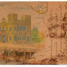 Postales: PS6778 PARÍS 'PALACIO DE ESPAÑA'. UNIÓN POSTAL. CIRCULADA. 1901. Lote 61396331