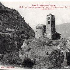 Postales: PS6782 ANDORRA 'CHAPELLE ROMANE DE SAN JUAN DE CASSELAS'. LABOUCHE FR. PRINC. S. XX. Lote 61405535