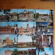 Postales: LOTE 14 POSTALES DE ROMA SIN CIRCULAR. Lote 61606888