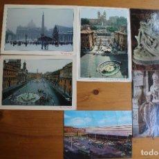 Postales: LOTE 6 POSTALES DE ROMA SIN CIRCULAR. Lote 61607232