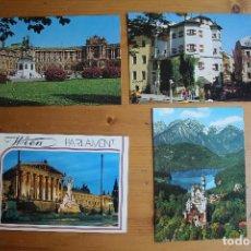 Postales: LOTE 4 POSTALES DE AUSTRIA I CIRCULADA . Lote 61608256