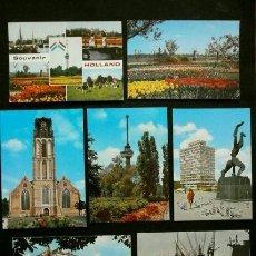 Postales: ROTTERDAM (HOLANDA) (LOTE 7 POSTALES) - HOLLAND / NEDERLAN / NETHERLANDS (AÑOS 70). Lote 61860840