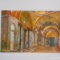 Postales: POSTAL BASILICA DE SAN MARCOS. VENEZIA. VENECIA. ITALIA. TDKP7. Lote 61910236