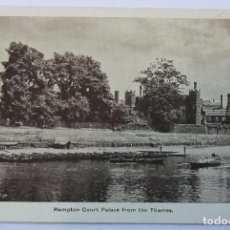 Postales: HAMPTON COURT PALACE FROM THE THAMES. Lote 61992064