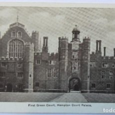 Postales: HAMPTON COURT PALACE FIRST GREEN COURT. Lote 61992392