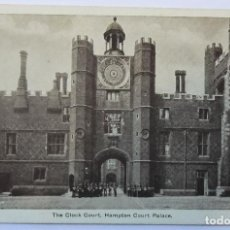 Postales: HAMPTON COURT PALACE THE CLOCK COURT. Lote 61992800