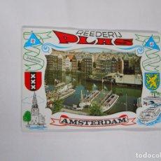 Postales: LOTE DE POSTALES DE AMSTERDAM. REEDERIJ PAAS. TDKP7. Lote 62190936
